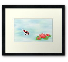 Origami Garden Series - Solitude Framed Print
