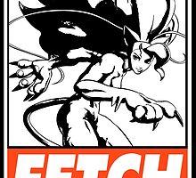 Felicia Fetch Obey Design by SquallAndSeifer