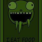 I Eat Food by KikiCraft