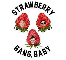 Strawberry Gang: Squad Photographic Print