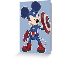 Captain Mickey Greeting Card