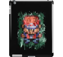 16-Bit Red Splatter iPad Case/Skin