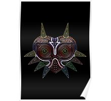 Ornate Majora's Mask Poster
