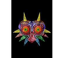 Majora's Mask Splatter Photographic Print