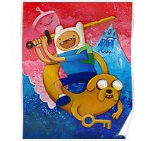 Adventure Time Finn & Jake Poster