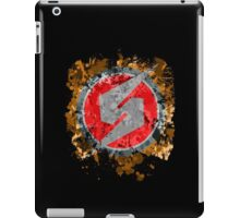 Metroid Symbol Splatter iPad Case/Skin