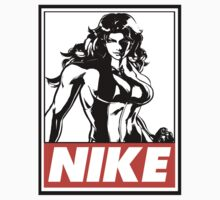 She-Hulk Nike Obey Design Kids Clothes