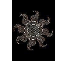Ornate Celestia Cutie Mark Photographic Print
