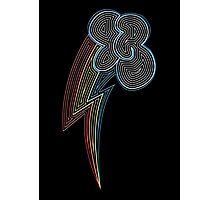 Ornate Rainbow Dash Cutie Mark Photographic Print
