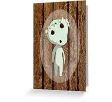 forest spirit Greeting Card