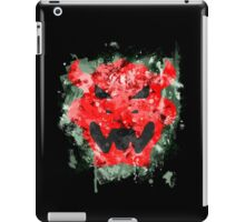 Bowser Emblem Splatter iPad Case/Skin