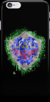 Hylian Shield Splatter by Colossal