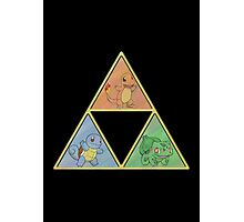 Pokemon Triforce Photographic Print