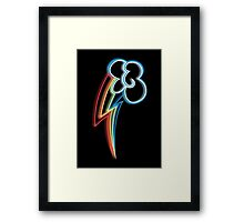 Rainbow Dash Cutie Mark Framed Print