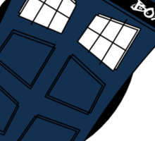 Abstract Tardis 3 Sticker