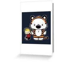 Hello Tiger Greeting Card