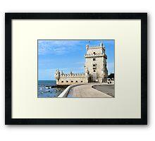 TORRE de BELEM- LISBON, PORTUGAL Framed Print
