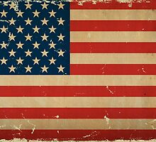 US Flag VINTAGE by USAswagg
