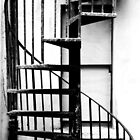 Spiral staircase by Agnes McGuinness