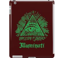 Illuminati iPad Case/Skin
