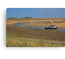 Wells-Next-The-Sea Canvas Print