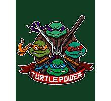 Turtle Power! Photographic Print