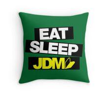 Eat Sleep JDM wakaba (4) Throw Pillow