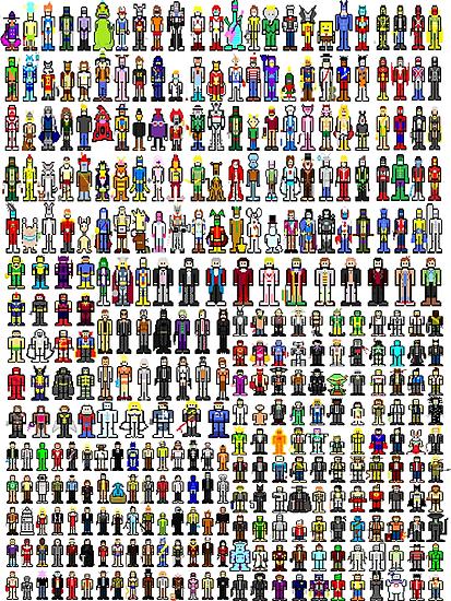 Pixels United! by inesbot