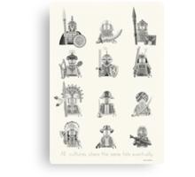 All Warriors Canvas Print