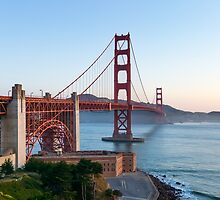 The Golden Gate Bridge by TomGreenPhotos