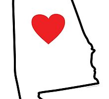 I Love Alabama by USAswagg