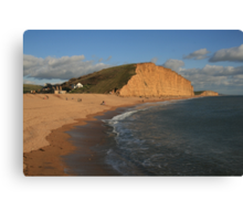 East Cliff, West Bay Canvas Print
