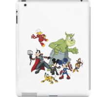 Earth's Mightiest Heroes iPad Case/Skin