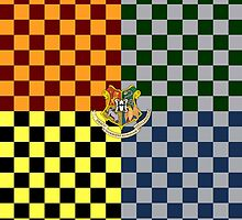 Harry Potter House Colours by strangebird2014