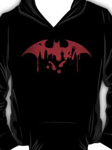 Gotham City (Batman) (Red) T-Shirt