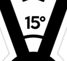 15 degree V engine (1) Sticker