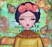 Frida - illuminate the world by MonicaMota