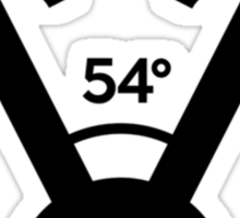 54 degree V engine (1) Sticker