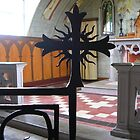 Looking at the Altar, The Italian Chapel by lezvee