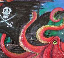A Pirates Tale - Attack Of The Mutant Octopus Sticker