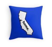 California. Home. Throw Pillow