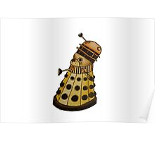 Dr Who- Dalek x French Bulldog Poster
