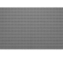 Building Block Brick Texture - Gray Photographic Print