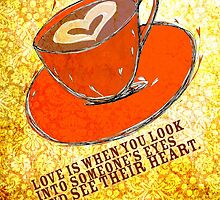 What my Coffee says to me -  September, 2012 by catsinthebag