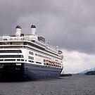 Cruise Liner, Ketchikan, Alaska. by johnrf