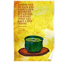 What my #Tea says to me February 8, 2013 Poster
