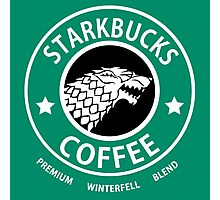 Game of Thrones Starbucks Coffee Photographic Print
