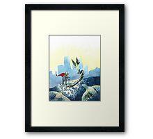 Average Heroes: The Pigeon Whisperer Framed Print
