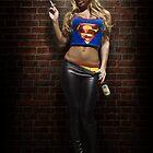Supergirl - back alley by Jeff Zoet