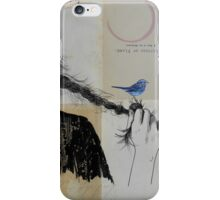 letters of flame iPhone Case/Skin